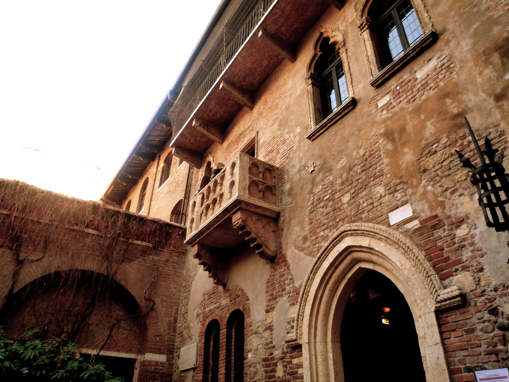 Casa di Giulietta. Fonte: flickr.com by Parimal Satyal
