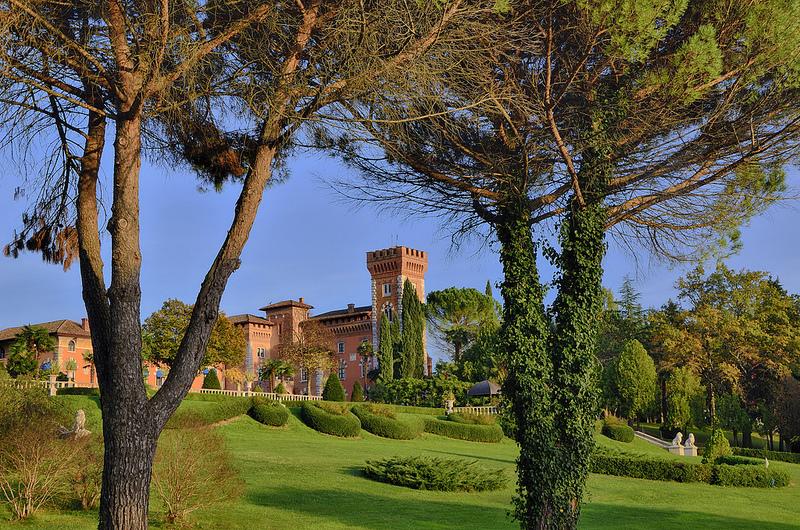 Castello di Spessa. Fonte: flickr.com - Author: Paolo Dell'Angelo